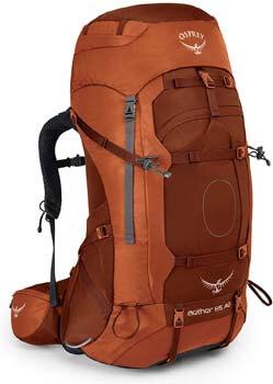 4. Osprey Aether AG 85 Men's Backpacking Backpack