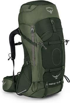 7. Osprey Aether AG 70 Men's Backpacking Backpack
