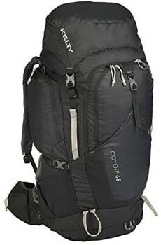 9. Kelty Coyote 65 Backpack Luggage- Suitcase