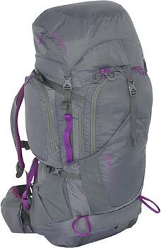 6. Kelty Women's Coyote 60 Backpack, Dark Shadow