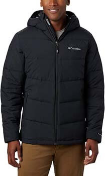 8. Columbia Lone Fir 650 TurboDown Hooded Jacket