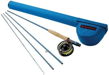 9. Redington Fly Fishing Combo Kit 590-4 Crosswater Outfit