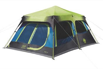 4. Coleman Cabin Tent with Instant Setup | Cabin Tent for Camping Sets Up in 60 Seconds