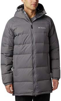 10. Columbia Men's Macleay Down Long Jacket