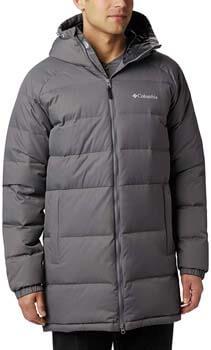 10. Columbia Men's Macleay Down Long Jacket