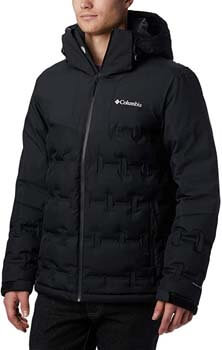 3. Columbia Men's Wild Card Down Jacket, Waterproof & Breathable