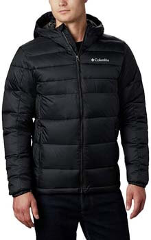 4. Columbia men's Buck Butte Insulated Hooded Jacket