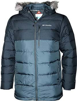 6. Columbia Men's Northridge Lodge 700 Fill Down Hooded Omni Heat Winter Puffer Jacket