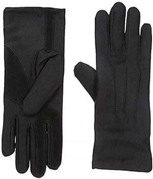 2. Isotoner Women's Spandex Cold Weather Stretch Gloves with Warm Fleece Lining