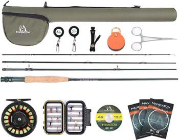 10. M MAXIMUMCATCH Maxcatch Extreme Graphite Fly Fishing Rod
