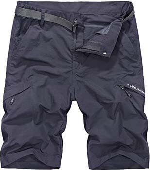 1. Vcansion Men's Outdoor Lightweight Hiking Shorts Quick Dry Shorts Sports Casual Shorts