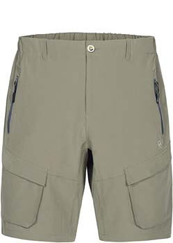 8. Little Donkey Andy Men's Stretch Quick Dry Cargo Shorts for Hiking, Camping, Travel