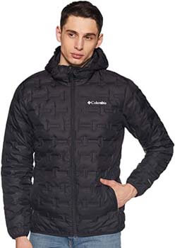 9. Columbia Men's Delta Ridge Down Hooded Jacket