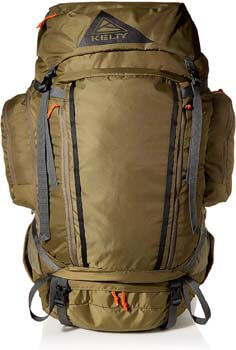 5. Kelty Coyote 60-105 Liter Backpack, Men's and Women's (2020 Update) - Hiking, Backpacking