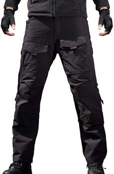 3. FREE SOLDIER Men's Outdoor Tactical Pants Ripstop Military Combat EDC Cargo Pants