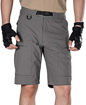 8. FREE SOLDIER Men's Lightweight Breathable Quick Dry Tactical Shorts
