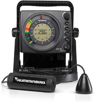 10. Humminbird ICE-45 Three Color Flasher with LCD