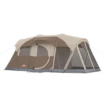 9. Coleman WeatherMaster 6-Person Tent with Screen Room