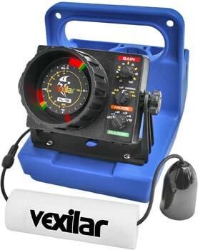 7. Vexilar's GP1812 FL18 Genz Pack 12Deg Ice-Ducer Combo