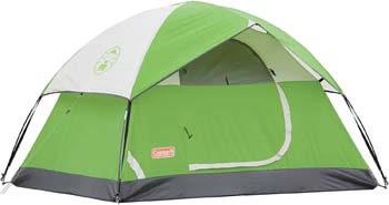 4. Coleman Sundome Tent