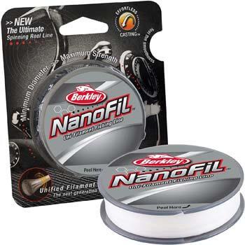 10. Berkley NanoFil Uni-filament Fishing Line