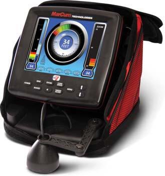 3. Marcum LX-7 Ice Fishing Sonar System/Fishfinder