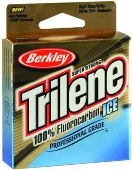 4. Trilene 100% Fluorocarbon Ice Fishing Line
