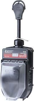 1. Progressive Industries Portable RV Surge Protector Portable EMS-PT30X RV Surge Protector