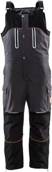 1. RefrigiWear Men's PolarForce Water-Resistant Warm Insulated Bib Overalls