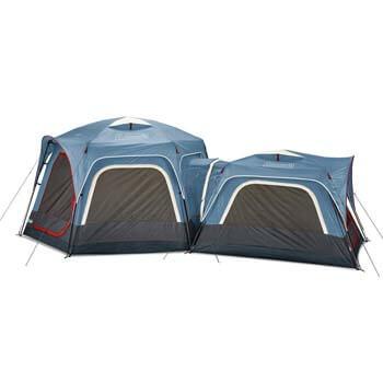 8. Coleman 3-Person & 6-Person Connectable Tent Bundle
