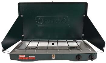10. Coleman Gas Camping Stove | Classic Propane Stove, 2 Burner