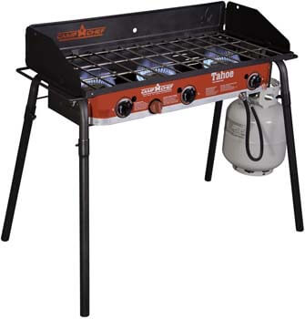 8. Camp Chef Tahoe Deluxe 3 Burner Grill