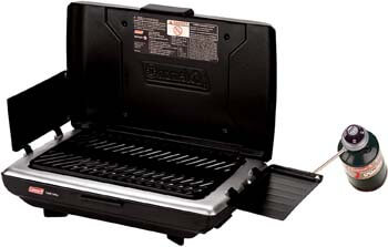8. Coleman Camp Propane Grill