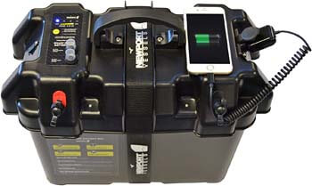1. Newport Vessels Trolling Motor Smart Battery Box Power Center