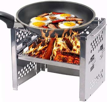 9. Unigear Wood Burning Camp Stoves