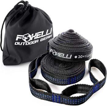 1. Foxelli Hammock Straps XL