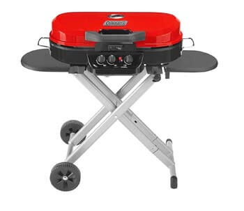 3. Coleman RoadTrip 285 Portable Stand-Up Propane Grill
