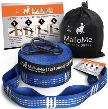 8. MalloMe XL Hammock Straps