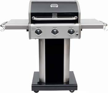 4. Kenmore PG-4030400LD-AM 3 Burner Outdoor Patio Gas BBQ Propane Grill, Black