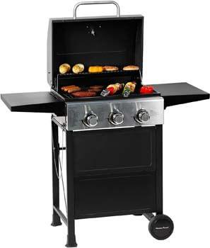 3. MASTER COOK 3 Burner BBQ Propane Gas Grill