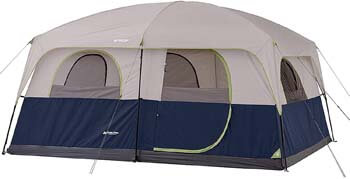 3. Ozark 10-Person 2 Room Cabin Tent Waterproof RAINFLY Camping Hiking Outdoor New!