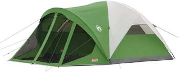 2. Coleman Dome Tent with Screen Room | Evanston Camping Tent with Screened-In Porch