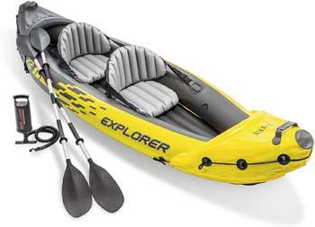 1. Intex Explorer K2 Kayak, 2-Person Inflatable Kayak Set
