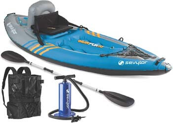 4. Sevylor Quikpak K1 1-Person Kayak