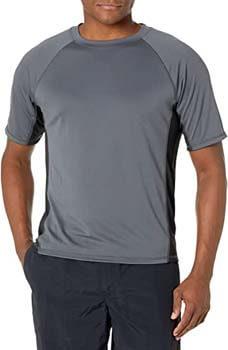 3. Kanu Surf Men's Cb Rashguard UPF 50+ Swim Shirts (Regular & Extended Sizes)