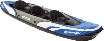 10. Sevylor Big Basin 3-Person Kayak
