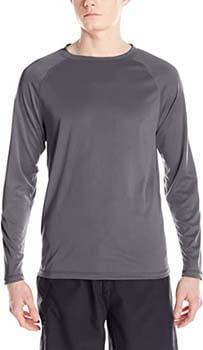 7. Kanu Surf Men's UPF 50+ Long Sleeve Rashguard Swim Shirt