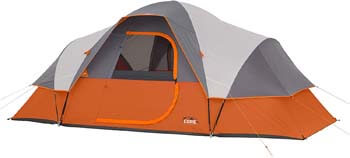 1. Core 9 Person Extended Dome Tent