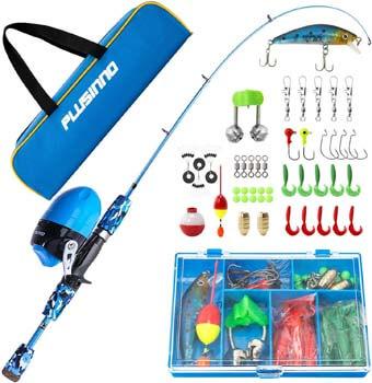 5. PLUSINNO Kids Fishing Pole