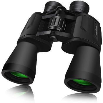6. SkyGenius 10 x 50 Powerful Binoculars for Adults Durable Full-Size Clear Binoculars for Bird Watching Travel Sightseeing Hunting Wildlife Watching Outdoor Sports Games and Concerts